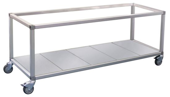 Roband ET24 Food Bar and Bain Marie Trolley 8 Pans