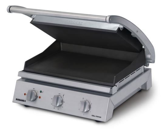 Roband GSA815ST 8 Slice Smooth Non-Stick Grill Station