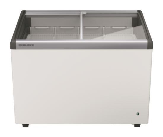 Liebherr EFI 2803 Curved Glass Slide Lid Chest Freezer 276L