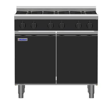 Waldorf Bold RNLB8606G-CD - 900mm Gas Cooktop Low Back Version - Cabinet Base