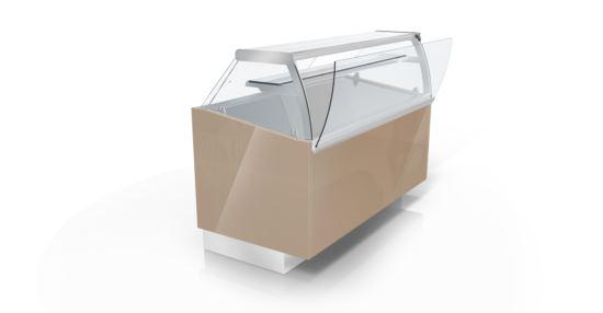 CIAM SQS2RV150I 6040 Ventilated Refrigerated Showcase S2