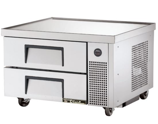 True TRCB-36 Chef Base Table - 2 x Refrigerated Drawers Under