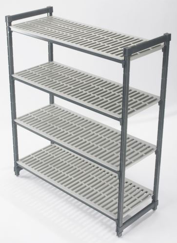 Cambro ESU243072V4 ELEMENTS 610mm Deep 4 Tier Shelving Kit 760mm Wide