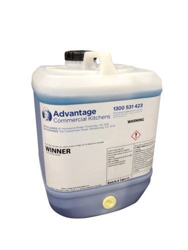Advantage WINNER-10L Winner Rinse Aid & Drying Agent 10 Litre