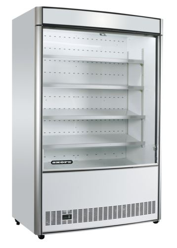 White Multi Deck Open Faced Refrigerated Display
