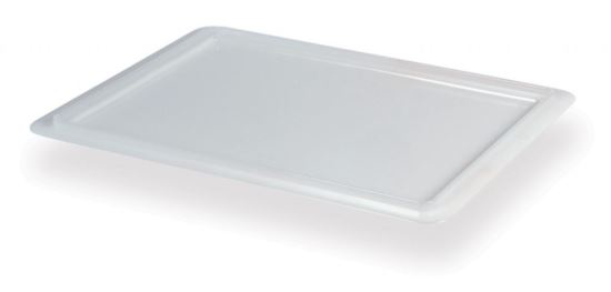 Advantage Stackable Pizza Doughball Tray Lids