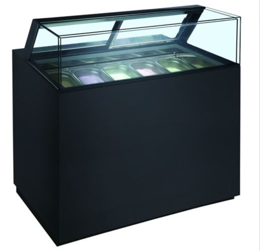 Anvil Aire DSG1200 1200mm Gelato Showcase Freezer