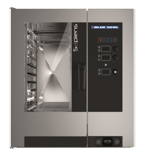 Blue Seal Sapiens G10RSDW 10 Tray Gas Combi Oven