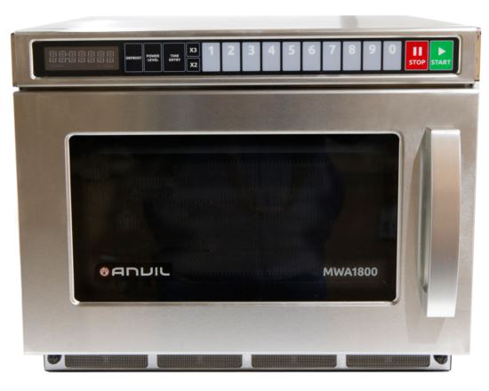 Anvil MWA1800 Commercial Microwave 15 Amp