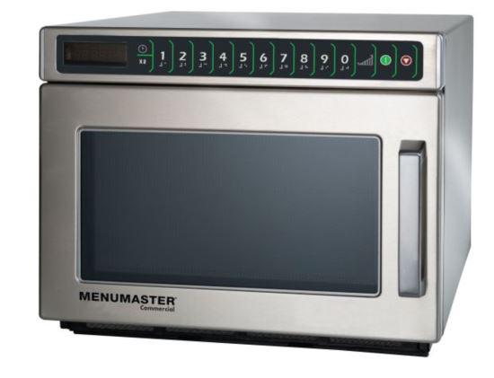 Menumaster DEC14E2A Heavy Duty Compact Microwave 1400W