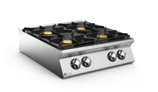 Mareno ANC98G40-NG 90 Series 4 Burner Gas Cook Top 800mm Wide Nat Gas