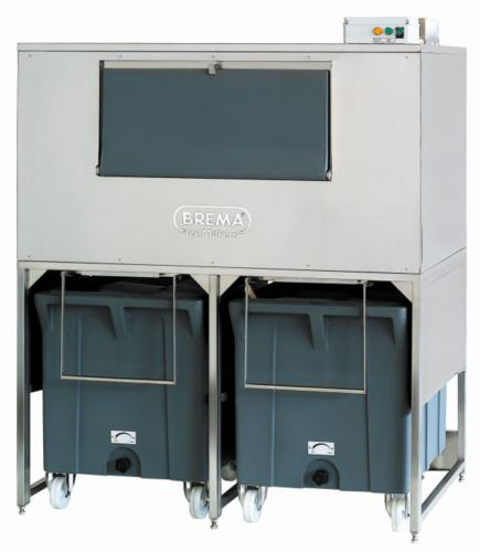 Brema DRB500 500kg Storage Bin With Two Rollers. Requires Cover Assembly