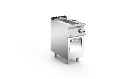 Mareno ANF74G15-NG 70 Series 400mm Wide Single Pan Gas Fryer 15L Nat Gas
