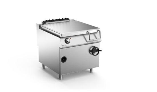 Mareno ANBR98GI-NG 90 Series Bratt Pan Stainless Steel Base 80L Hand Tilt 800mm Wide Nat Gas