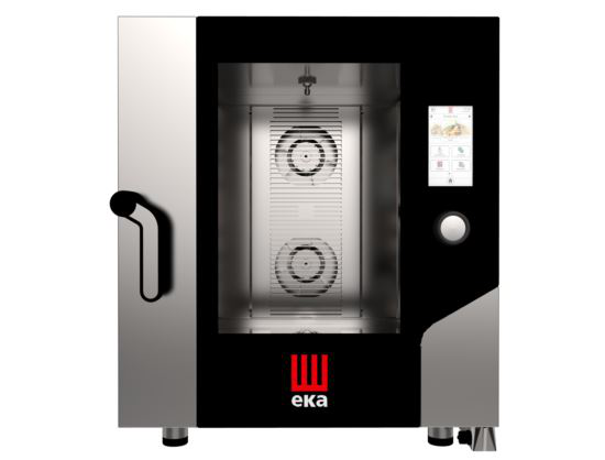 TecnoEKA MKF 711 VTS Electric 7 Tray GN1/1 Touch Screen with Boiler